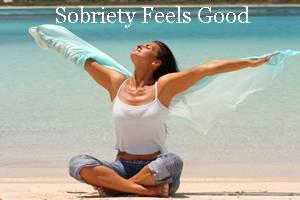 sobriety feels good